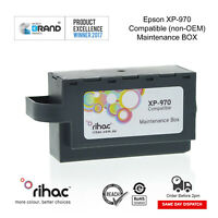 Rihac Maintenance Box for Epson Expression XP-970 waste ink tank XP970