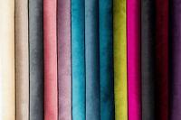 McAlister Textiles Designer Soft Plain Matt Velvet Fabric Upholstery by Metre