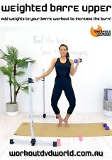 BALLET BARRE ARMS WORKOUT DVD - Barlates Body Blitz WEIGHTED BARRE UPPER BODY
