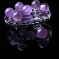 Natural Amethyst Quartz Magic Gemstone Sphere Crystal Reiki Healing Ball Stone