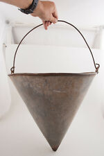 SPCO Witches Hat Cone Shaped Fire Bucket (RFT1) Southern Pacific Railroad