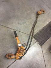 LB060-5 Harrington 6 Ton Lever Chain Hoist 5' Lift, Come Along
