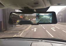 "4.3"" Rearview Mirror Dash Camera in Car Safety Driving Video Journey Recorder"