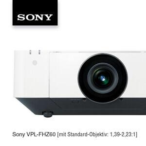 Sony VPL-FHZ60 /L UXGA Laserprojektor, Lensshift und 5000 lm, opt. mit Objektiv