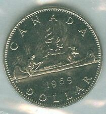 1969-PL Proof-Like Voyogeur $1 One Dollar '69 Canada-Canadian BU Coin UNC
