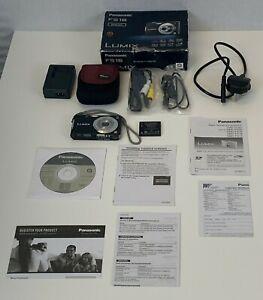 Panasonic Lumix DMC FS16 Digital Camera 14.1MP Black Instructions Tested Boxed