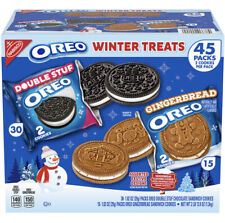 Limited Edition Oreo Cookie Winter Treats Gingerbread Variety Pack. Brand New