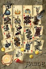 POSTER - FABLE - PLAYING CARDS - 35 13/16x24 3/16in - NEW / ORIGINAL PACKAGE