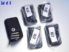 5 Lot RJZ G&G Firm Nylon Gun Ammo Cartridge Case 38/357 Hold 6 on Strip 7 Loose