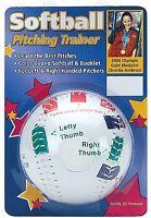 CHRISTIE AMBROSI SOFTBALL PITCHING TRAINER Pitcher Training Aid 11 inch BALL