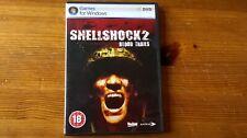 SHELLSHOCK 2 : BLOOD TRAILS - 2008 FPS SHOOTER PC GAME - FAST POST- COMPLETE VGC