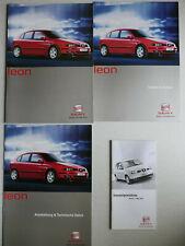 Prospekt Seat Leon, 2.2001, 32 Seiten + Daten/Ausstattung + Farben + Preisliste