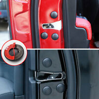 12* Universal Car Interior Accessories Door Lock Screw Protector Cover Cap Trim