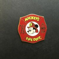 WDW - Mickey's Fire Department Mickey Mouse - Disney Pin 111