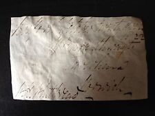 WILLIAM HENRY WHITBREAD - M.P. & MEMBER OF BREWING FAM.  - SIGNED ENVELOPE FRONT