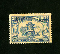 Portugal Stamps # 107 VF OG H Scott Value $200.00