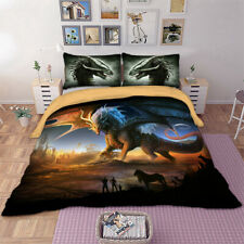 Animal 2/3Pieces Duvet Cover Set Twin/Queen/King Size Bedding Set Pillow Case US