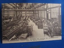 cpa 42 st etienne manufacture armes & cycles atelier machines automatiques