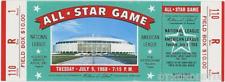 1 1968 ALL-STAR GAME VINTAGE UNUSED FULL TICKET BASEBALL reproduction laminated!