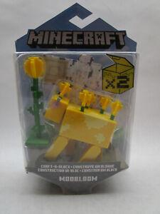 Mattel - Minecraft Craft-A-Block Action Figure MOOBLOOM 3.5 inch Worn Packaging
