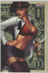 GFT INFERNO RINGS OF HELL #2 Cover E 1/350 NM- Zenescope Comic - Vault 35