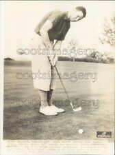 1936 Golfer Howard Kreel of Colorado 1930s Press Photo