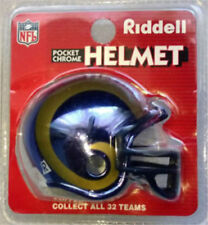 Riddell Pocket Chrome NFL San Francisco 49ers Football Helmet Mini