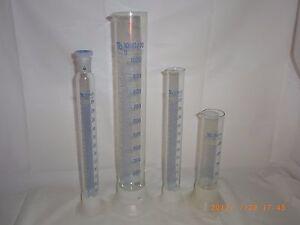 Laborglas Messzylinder Mischzylinder 1000 ml  250 ml