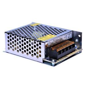 Trasformatore 5 Ampere 12 Volt Per Striscia Led Stabilizzato 220V 60W