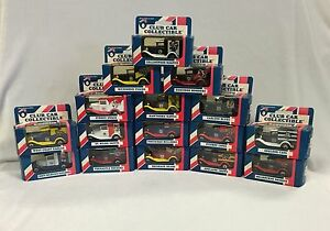 1995 MATCHBOX AFL CLUB CAR COLLECTIBLE LIMITED EDITION COMPLETE SET OF 16
