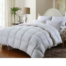 Luxurious 1200Tc Baffle Box Siberian Goose Down Comforter Twin Full Queen King