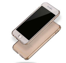 Hot Ultra-thin Shockproof 360° Silicone Protective Clear Soft Phone Case Cover