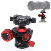 Heavy Duty Photography Tripod Ball Head with Quick Release Clamp for DSLR Camera