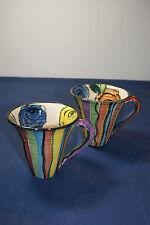 Mary Rose Young 2 Kaffee Tassen Becher, 1993 / TOP! Sammlerstück