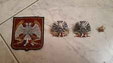 Serbia Yugoslavia Army Beret Badges Patch lot of 4 pieces