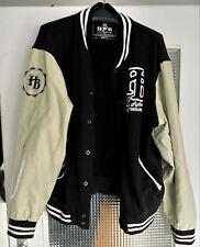 HoodBoyz College Jacke Farbe Schwarz Creme 3XL XXXL