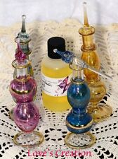 ONE 5 Inch Egyptian Perfume Bottle With 1 oz Free Perfume Oil