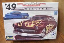 REVELL '49 MERCURY CUSTOM COUPE 3'n1 MODEL KIT  1/25 SCALE