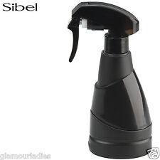 Sibel Black Micro 220ml Atomizer, Salon Hair Water Styling Spray Bottle