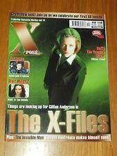 XPOSE #50 BRITISH MAGAZINE VISUAL IMAGINATION OCTOBER/NOVEMBER 2000 X-FILES