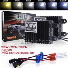 HID Xenon Scheinwerfer Kit NACHRÜSTSATZ 9005 9006 H1 H4 H7 4300K-12000K 75W/100W