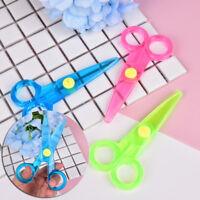 Quality Safety scissors Paper cutting Plastic scissors Children's handmade toys