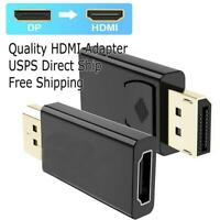 Display port to HDMI Displayport DP to HDMI Cable Adapter video Port to hdmi Hot