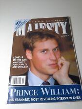 Majesty Magazine Vol 22 #11 November 2001