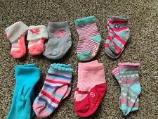 Baby/ toddler Girl Socks Lot Of 8