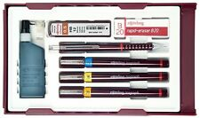 Rotring Isograph 3 Pen College Set - 0.2/0.4/0.60mm