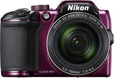 NIKON COOLPIX B500 Digital Camera B500PU PLUM PRE-OWNED