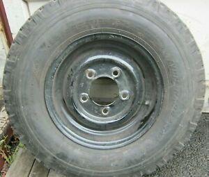 Land Rover Defender Steel Wheels and Tyres QTY5