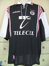 KAREL POBORSKY BENFICA PORTUGAL 1998 ADIDAS CZECH VTG FOOTBALL SHIRT JERSEY XL
