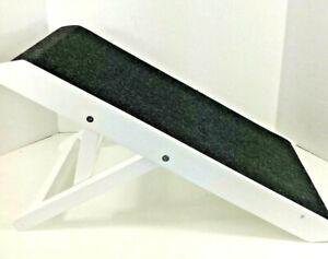 Internet's Best Adjustable Pet Ramp Decorative Wooden Folding Dog Ramp for Pets